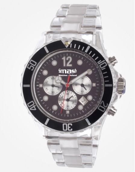 Antartic Chronograaf Black