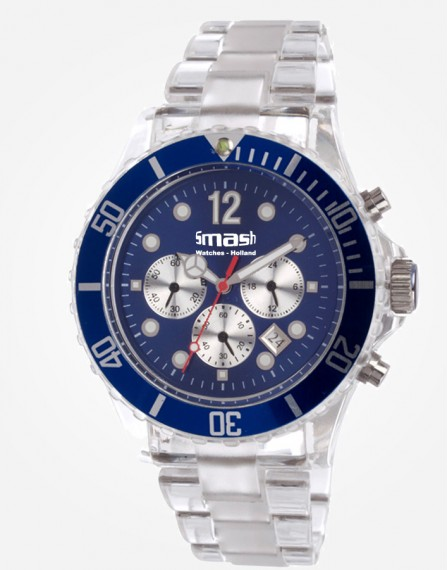 Antartic Chronograaf Blue