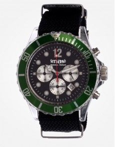 Antartic Chronograaf Green Canvas