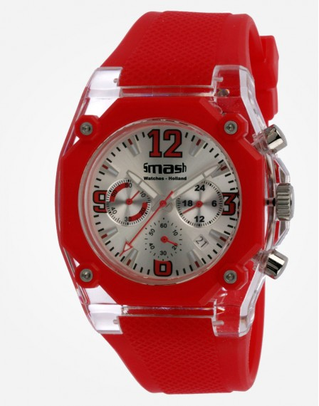 Ottavo Chrono Red / Silver