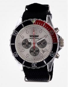 Antartic Chronograaf Red Canvas