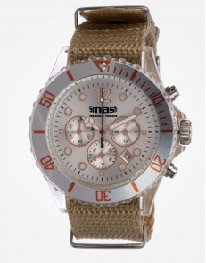 Antartic Chronograaf Copper Canvas